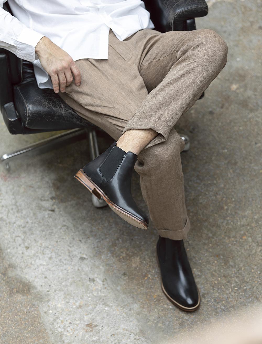 Chelsea boots Casual - Noir