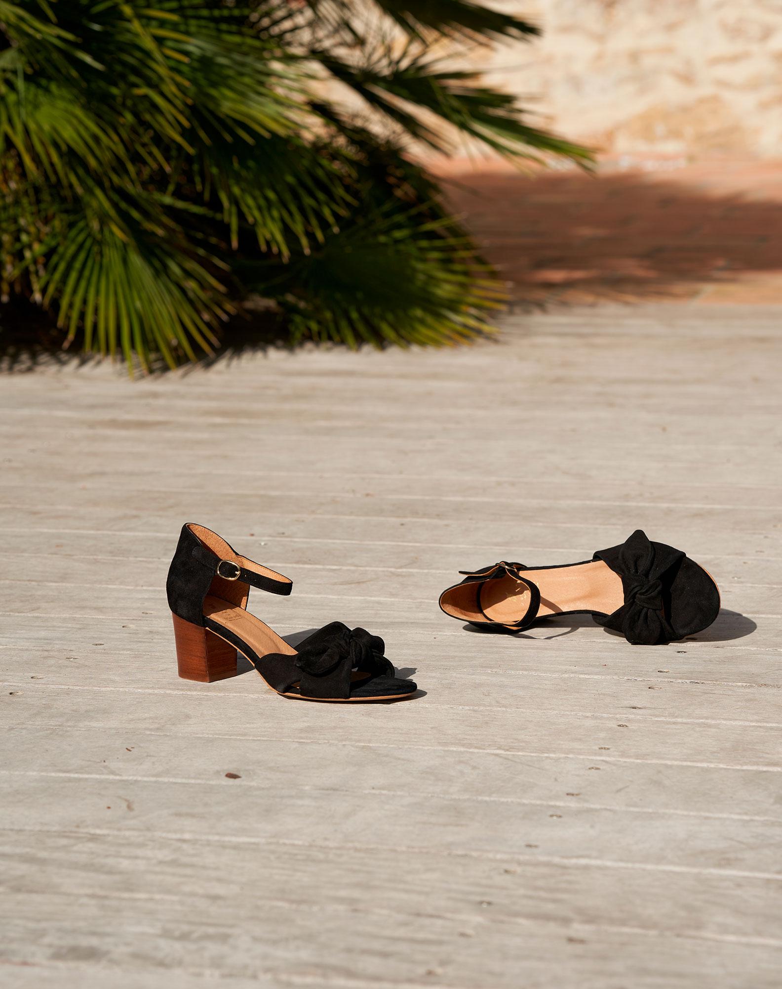 Sandales à talons Pepita - Noir
