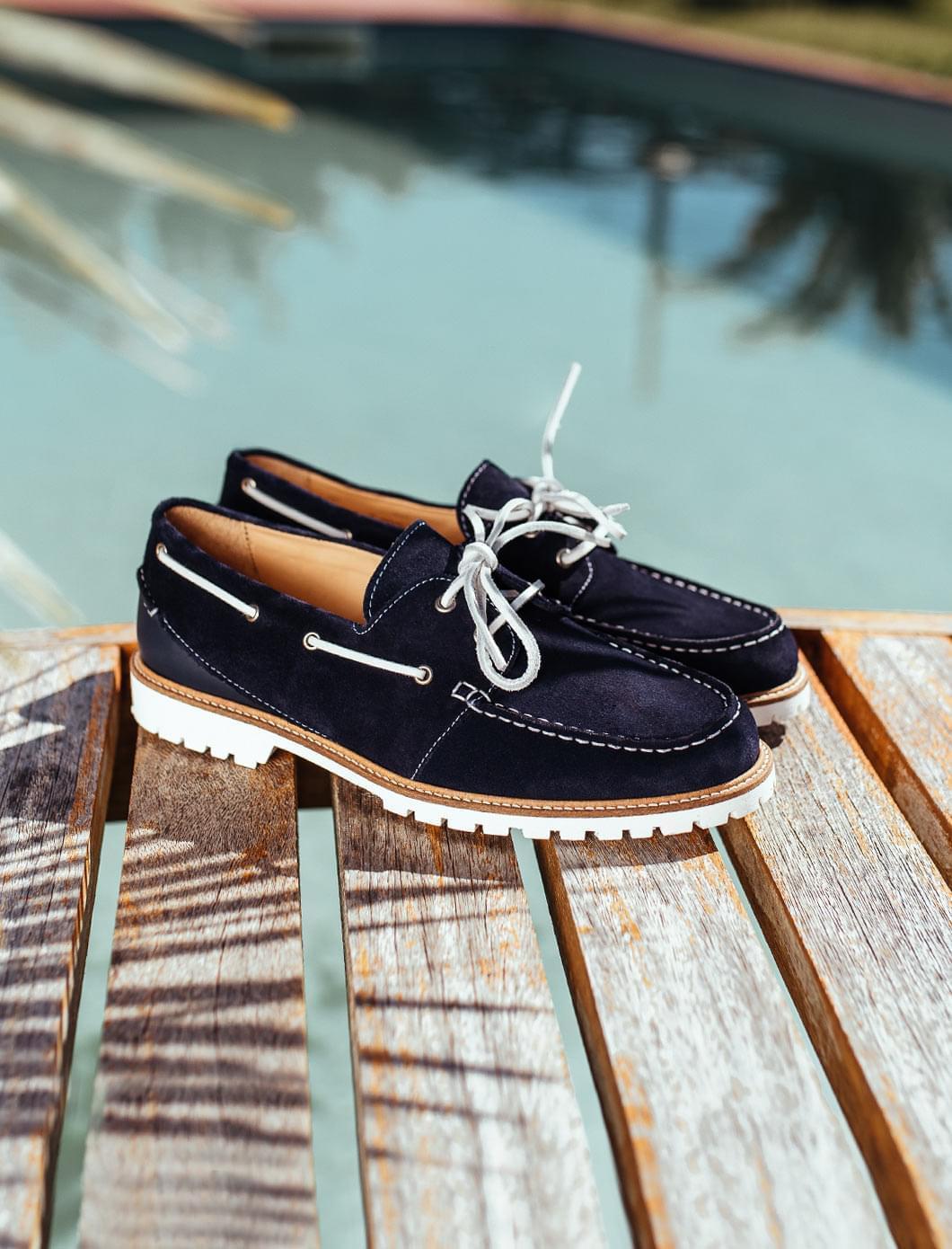 Chaussures Bateau - Bleu nuit