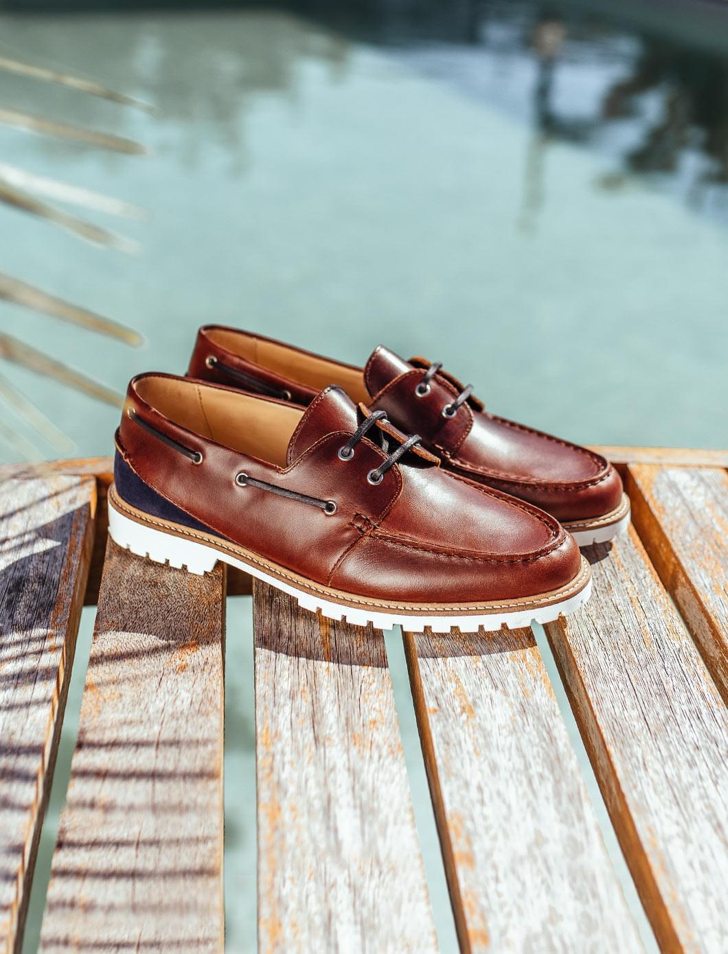 Chaussures Bateau - Bourgogne