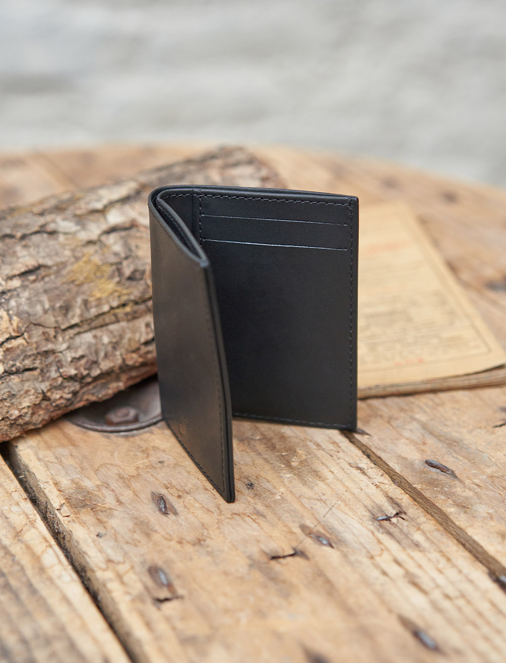 Porte-Cartes Livret Noir