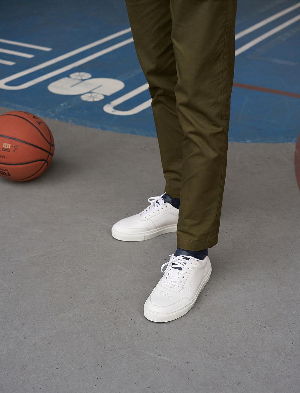 Frisco V3 - Blanc, Bleu