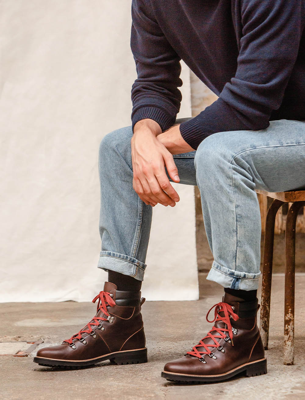 Alpine boots - Bourgogne