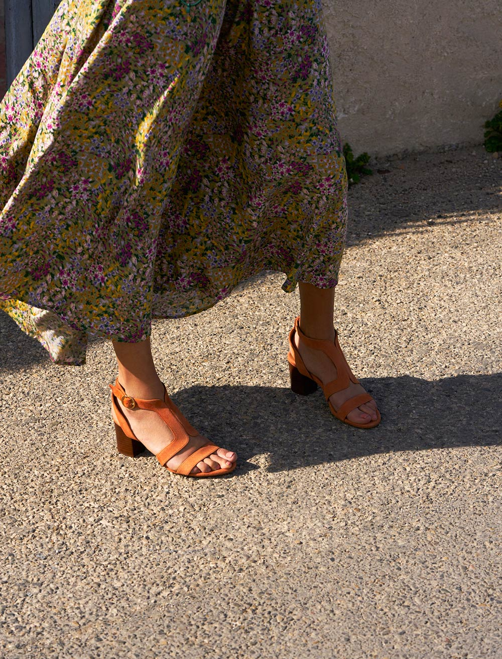 Sandales Roxane - Papaye