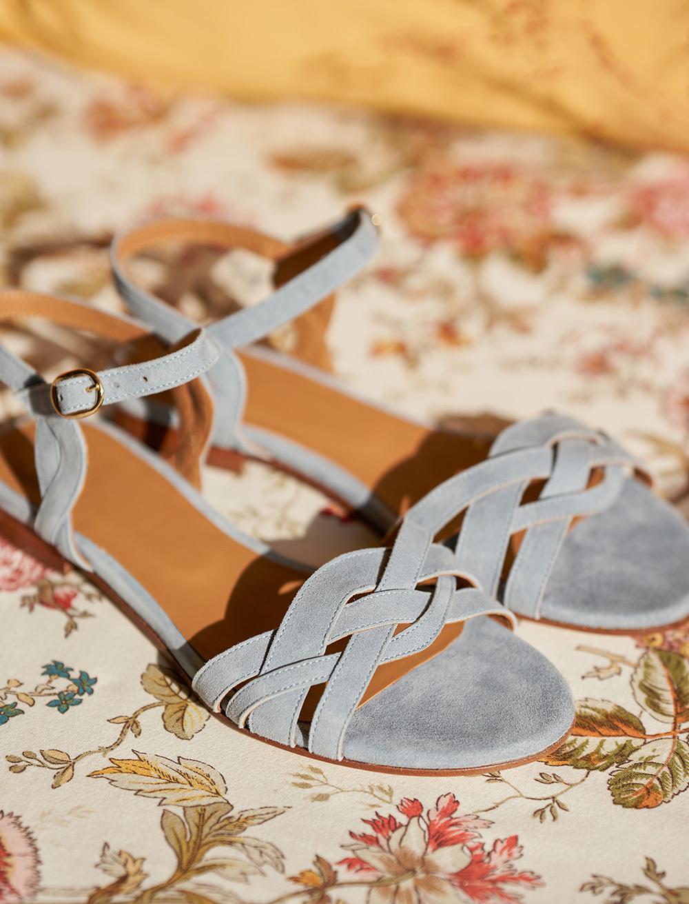 Sandales Enora - Perle