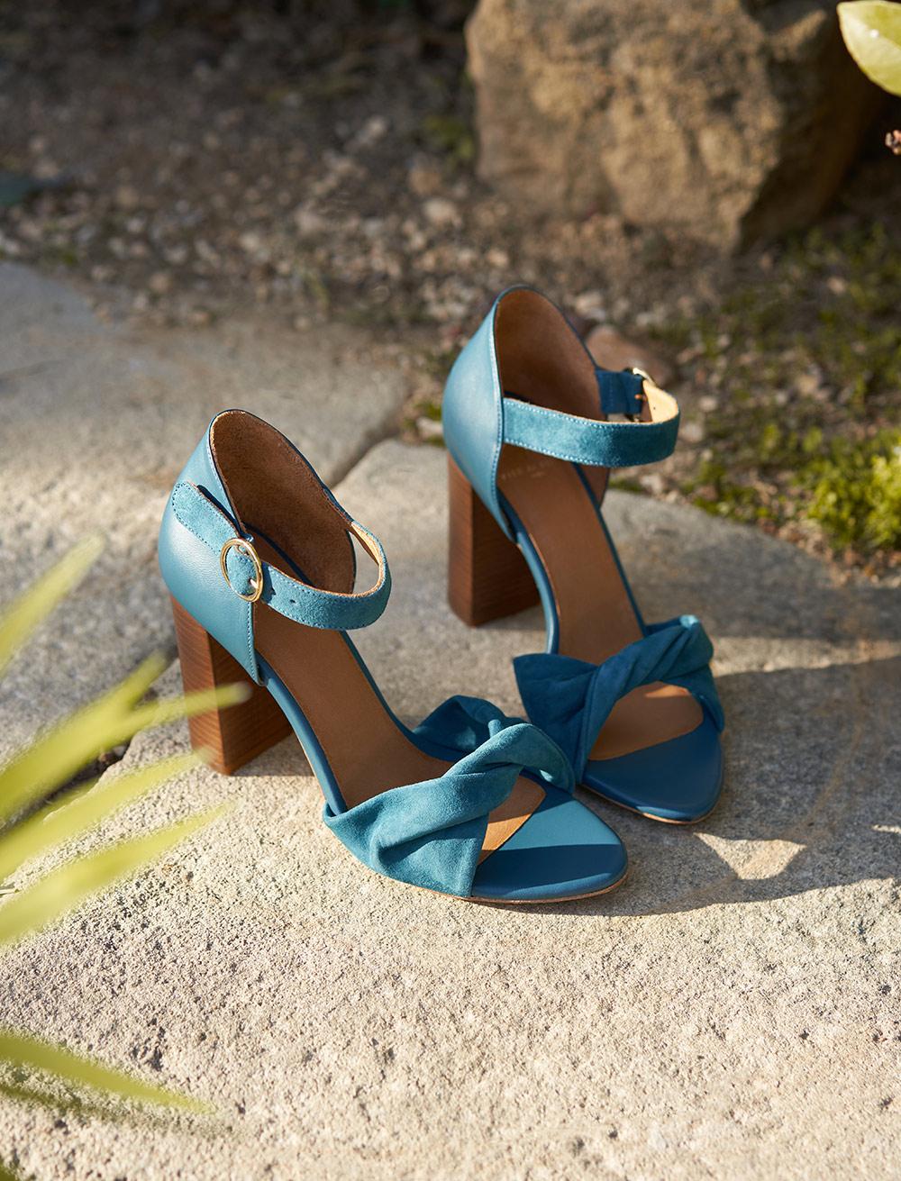 Sandales à talons Pia - Canard