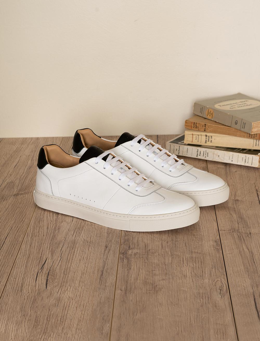 Sneakers Rick - Blanc et noir