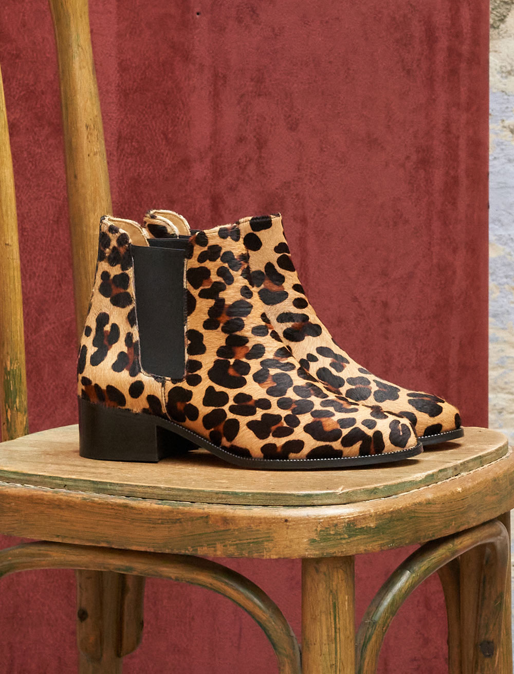 Chelsea boots Amy - Léopard