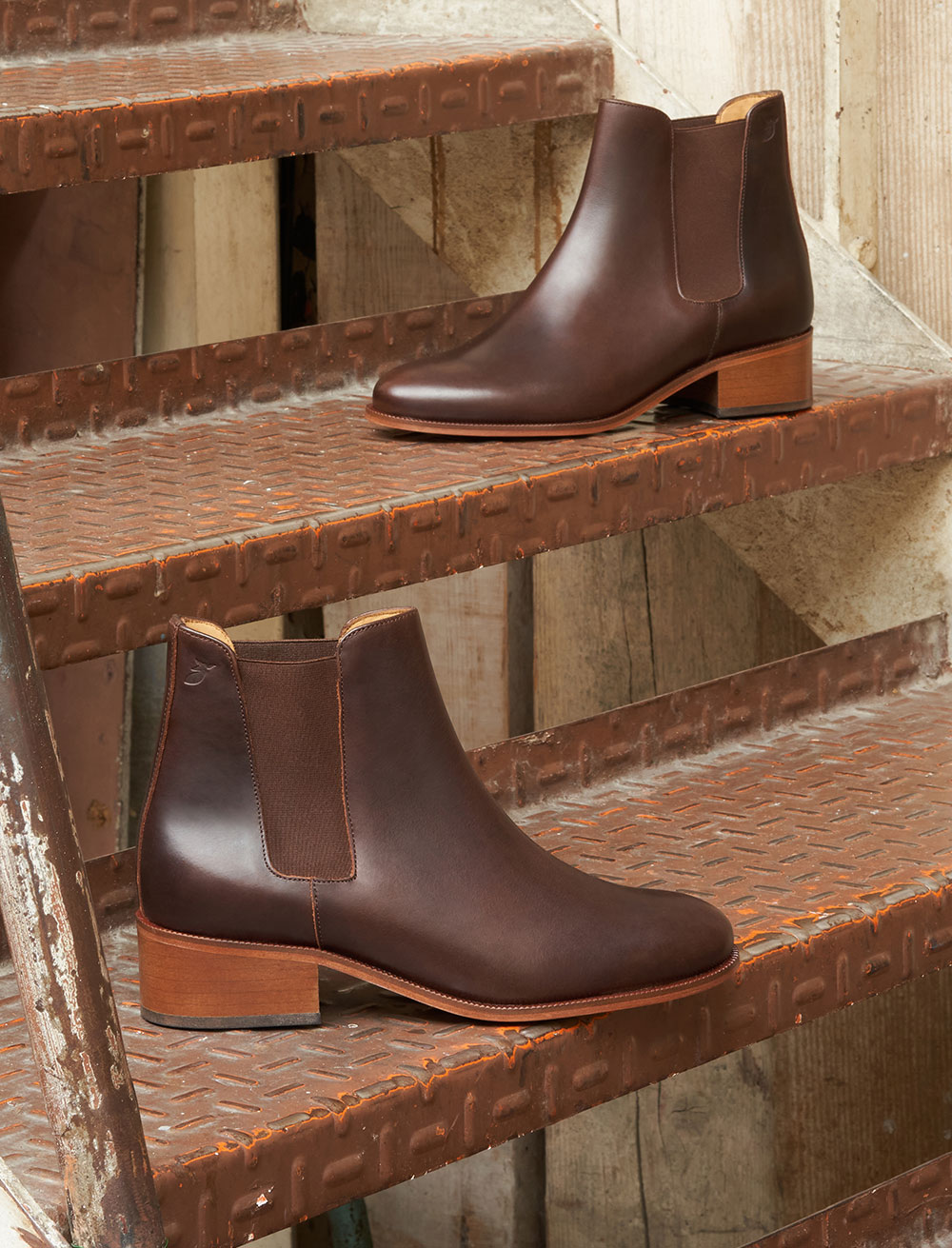 Chelsea boots Amy - Bourgogne
