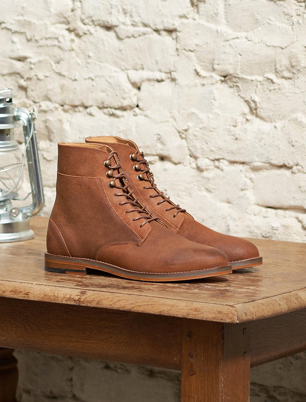 Combat boots Casual - Écorce