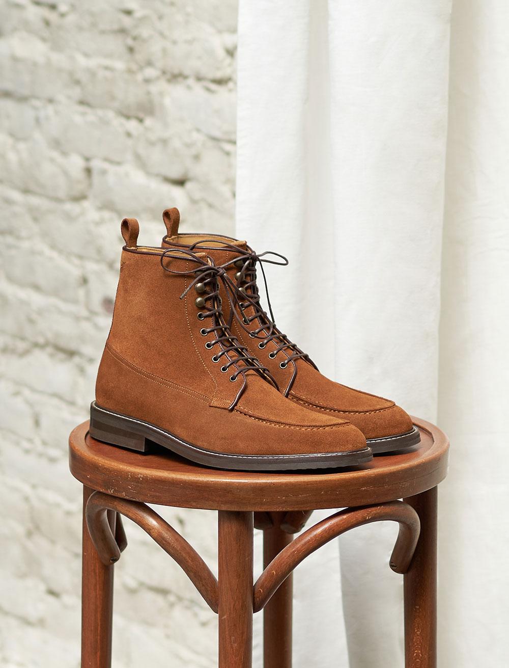 Combat boots Classique - Fauve