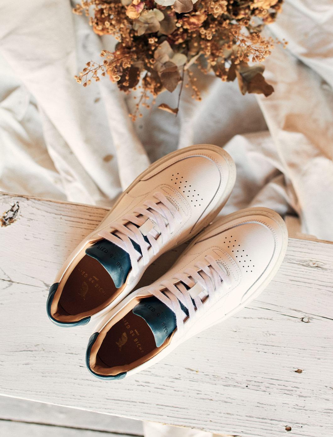 Frisco V2 - Blanc et bleu canard