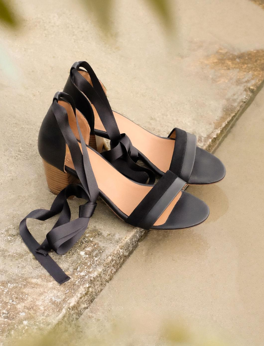 Sandales à talons Nila - Noir