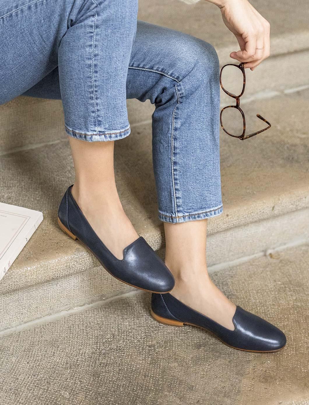 Slippers Bleu et Python