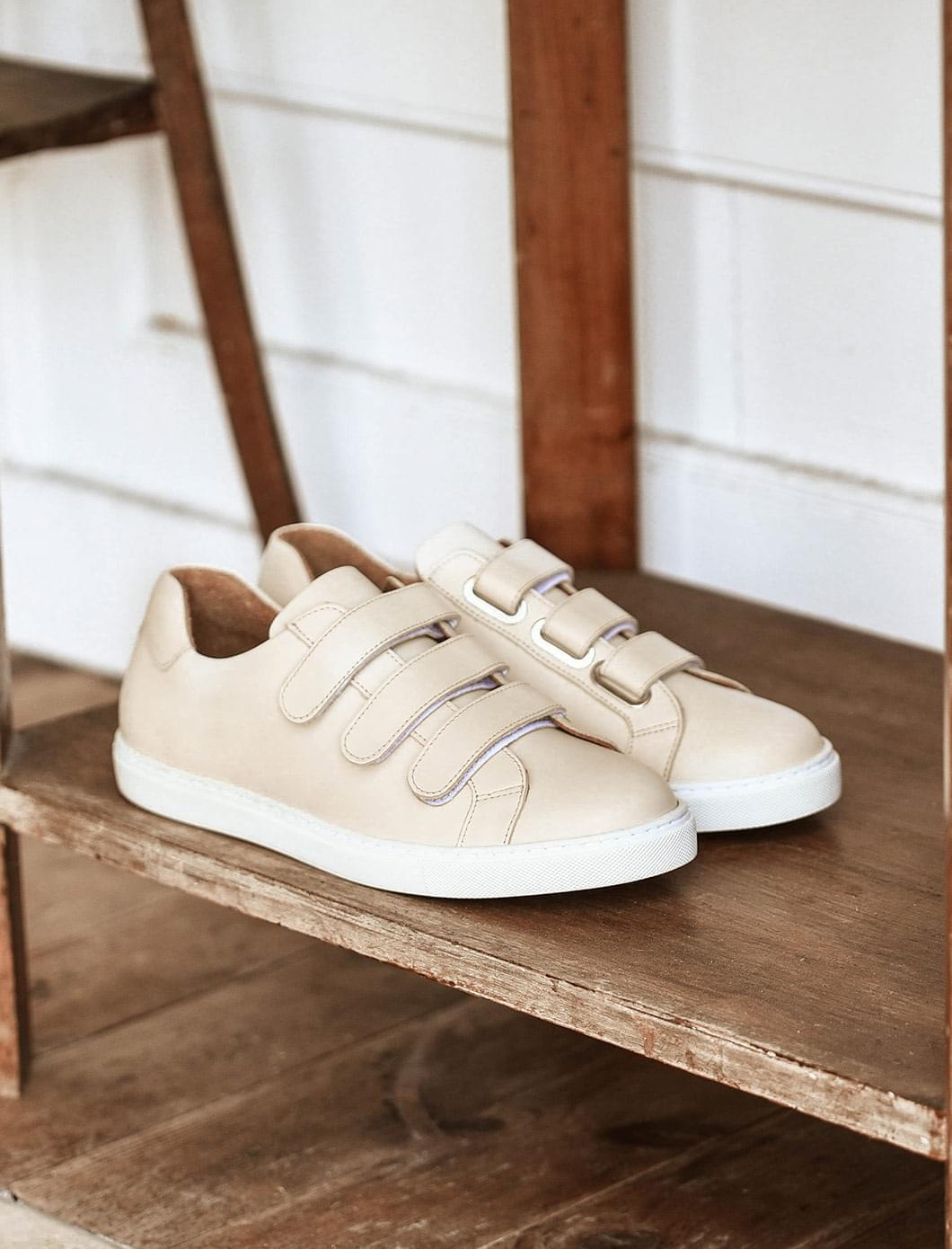Sneakers - Crème