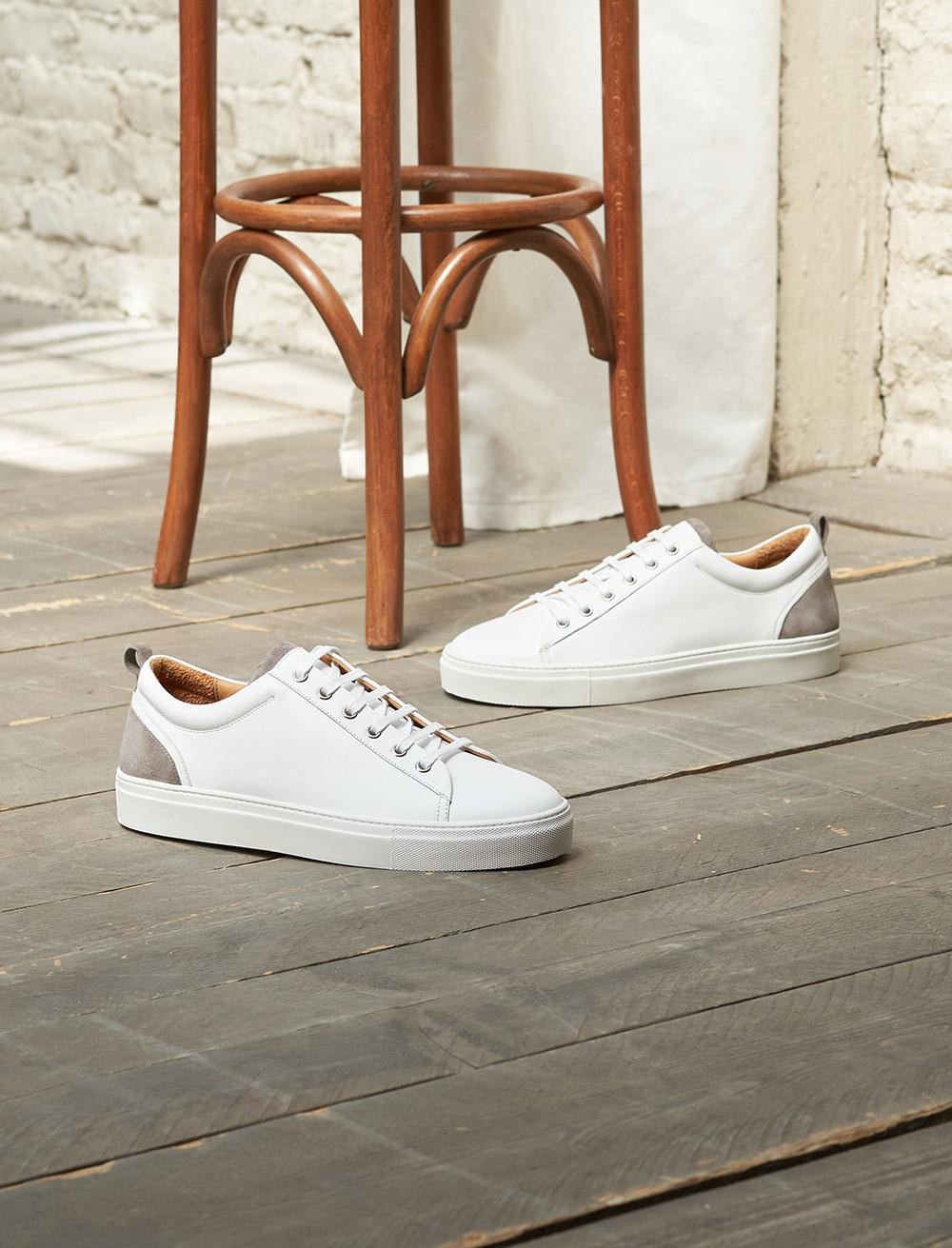 Sneakers Luka - Blanc et gris